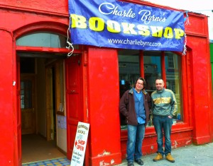 Charlie Byrnes Pop-Up Bookshop at Ennistymon Book Town Festival